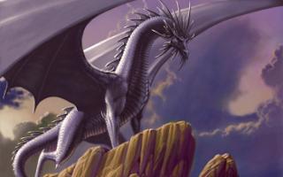Wallpaper HD fantasy dragon and tiger and woman