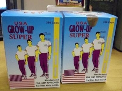 Grow Up Super USA Peninggi Badan