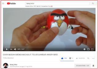Contoh Sederhana Pembuatan Video Untuk Channel Youtube