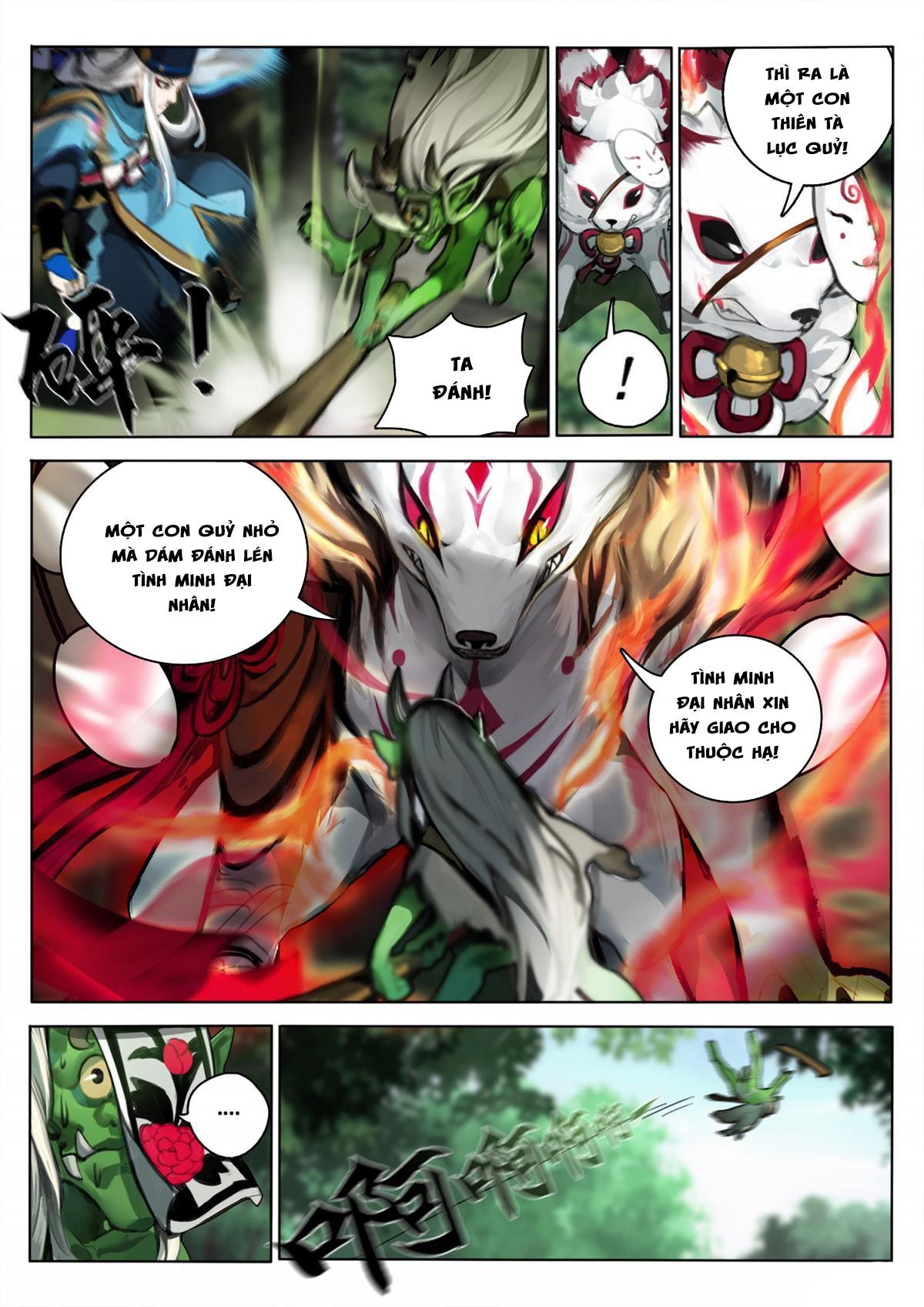 Onmyoji - Âm Dương Sư manga Chap 4 page 3