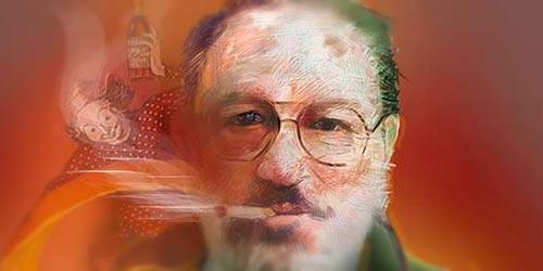 Umberto Eco por Hache Holguín