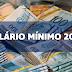 Governo deve prever para 2020 salário mínimo corrigido pela inflação, mas sem aumento real