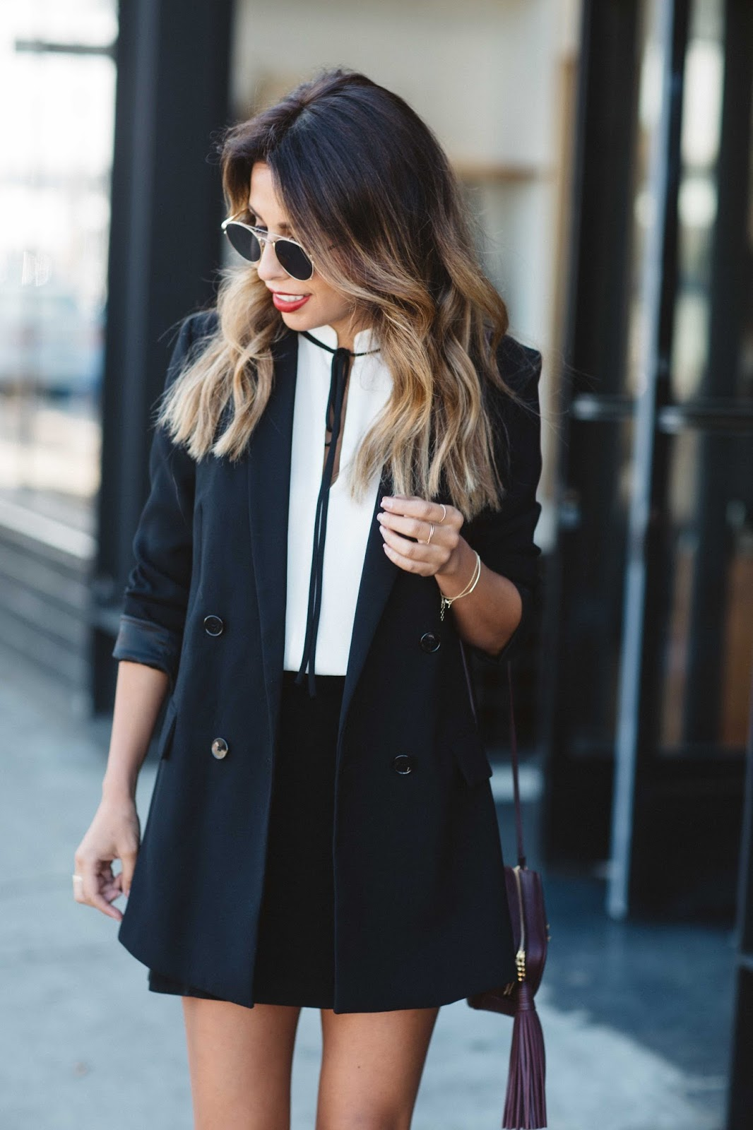 how to wear black and white holiday, holiday outfit, what to wear holidays, poof shoes