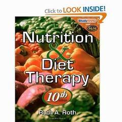 Nutrition & Diet Therapy 10th Edition by Ruth A  Roth Ebooks