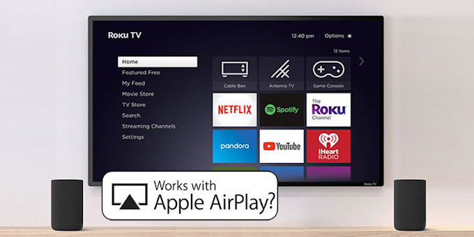 Roku maybe adding AirPlay 2 support to their hardware soon