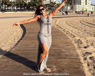 Mayra Cardi en California