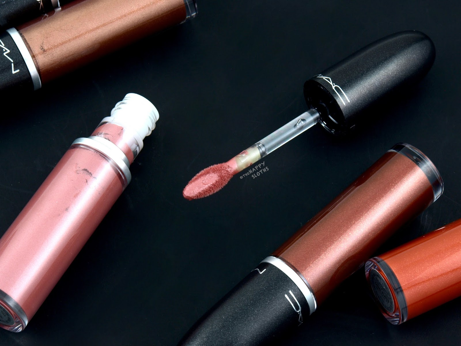 MAC Retro Matte Liquid Lipcolor Metallics: Review and Swatches