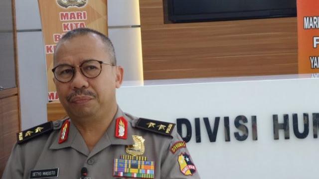 Polri Akui Ada Anggotanya Datangi Kantor Pemuda Muhammadiyah