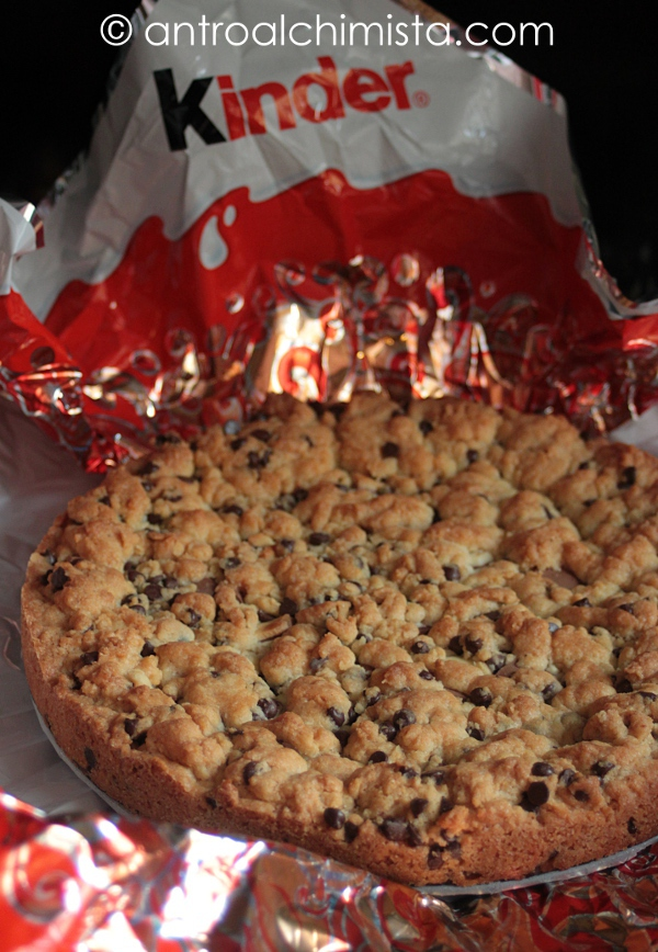 Torta Cookies con Kinder Maxi