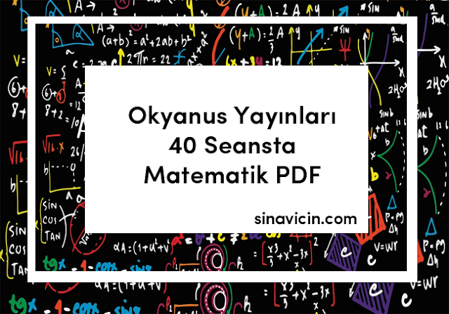 Okyanus Yayınları 40 Seansta Matematik PDF