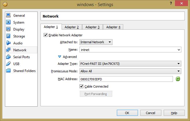 Macam Macam Mode Jaringan di Virtualbox