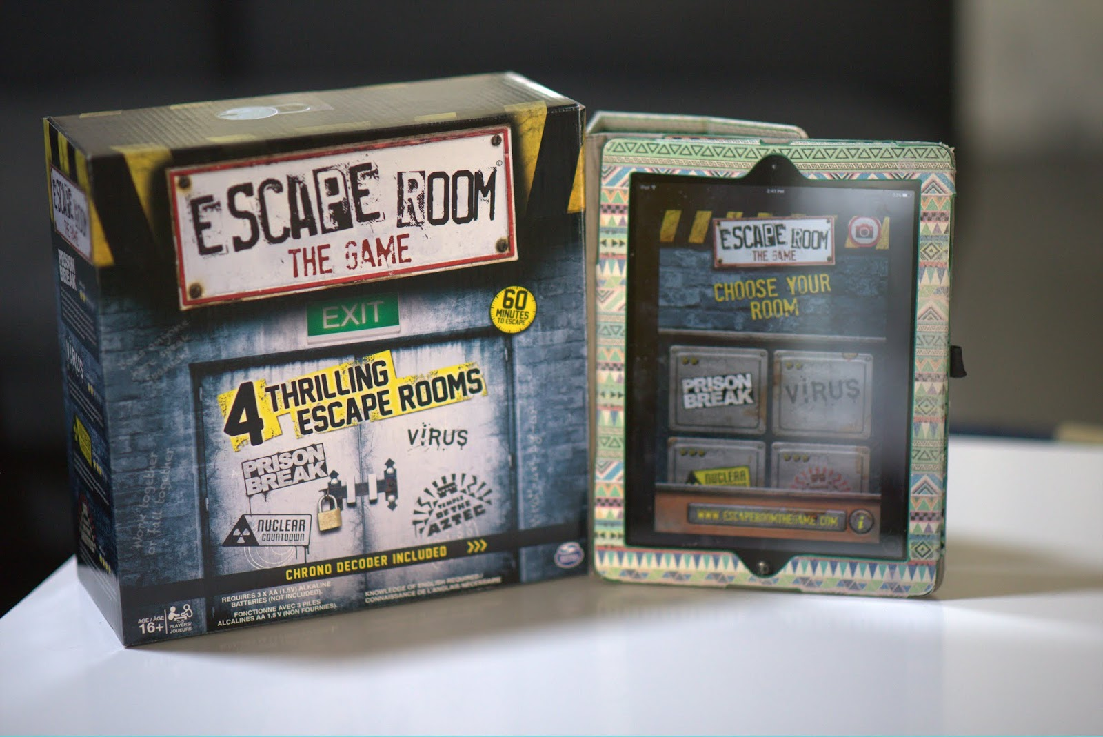 Game Night - Escape Room - littleladylittlecity.com