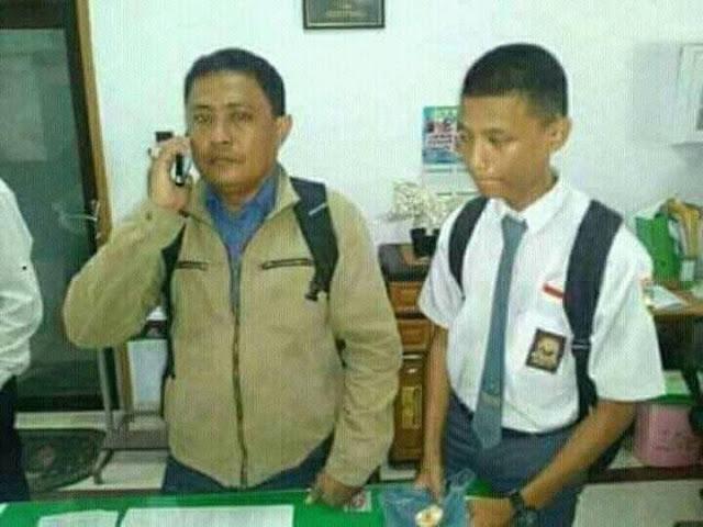 Ayah dan Anak yang Terlibat Pemukulan Guru SMKN 2 Makassar Akhirnya Ditahan Polisi