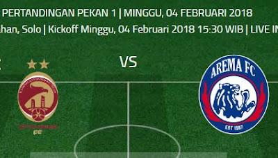 Sriwijaya FC vs Arema FC