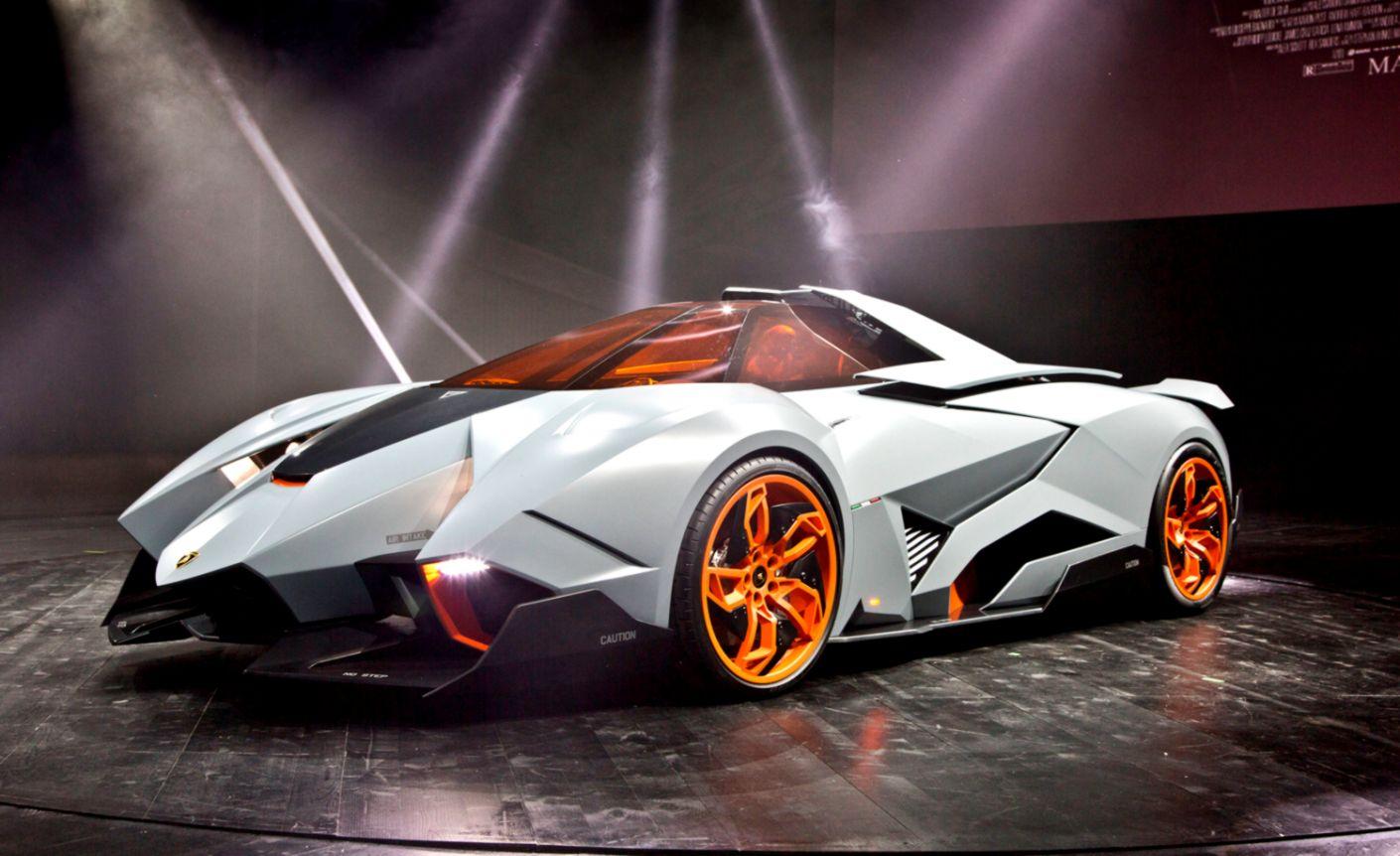 Lamborghini Egoista Concept Wallpapers Titan
