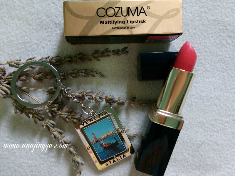 Terima Hadiah Lipstick COZUMA Yang Cantik Sangat