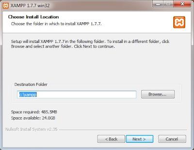 cara menginstall xampp di windows d - Cara Menginstall Xampp Di Windows Untuk Php Dan Mysql