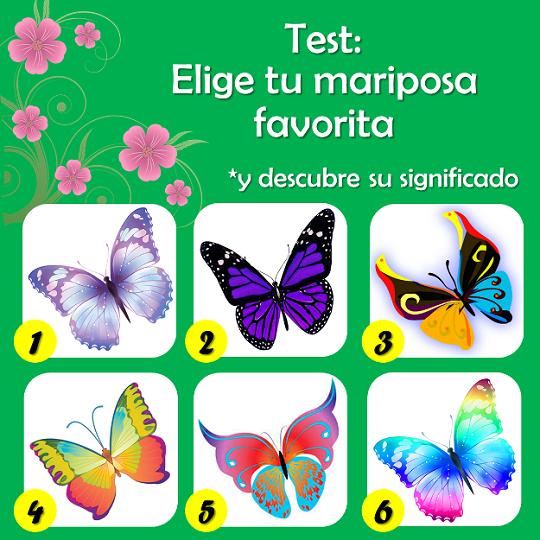 piensa diferente el test de las mariposas