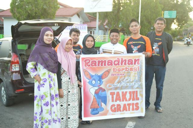 Begini Cara Komunitas Lapanning Berbagi dengan Sesama di Bulan Ramadhan