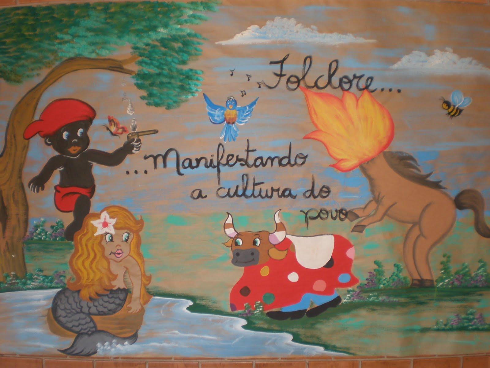 Painel Dia Do Folclore: DICAS PEDAGÓGICAS: Painel Sobre O Folclore Brasileiro