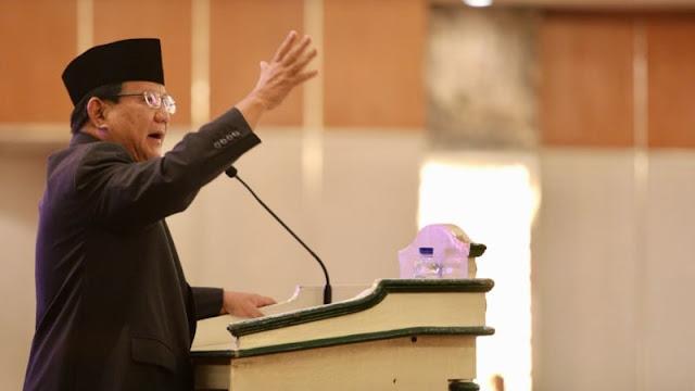 Prabowo: Dalam Kondisi Perang, Indonesia Hanya Bertahan 3 Hari