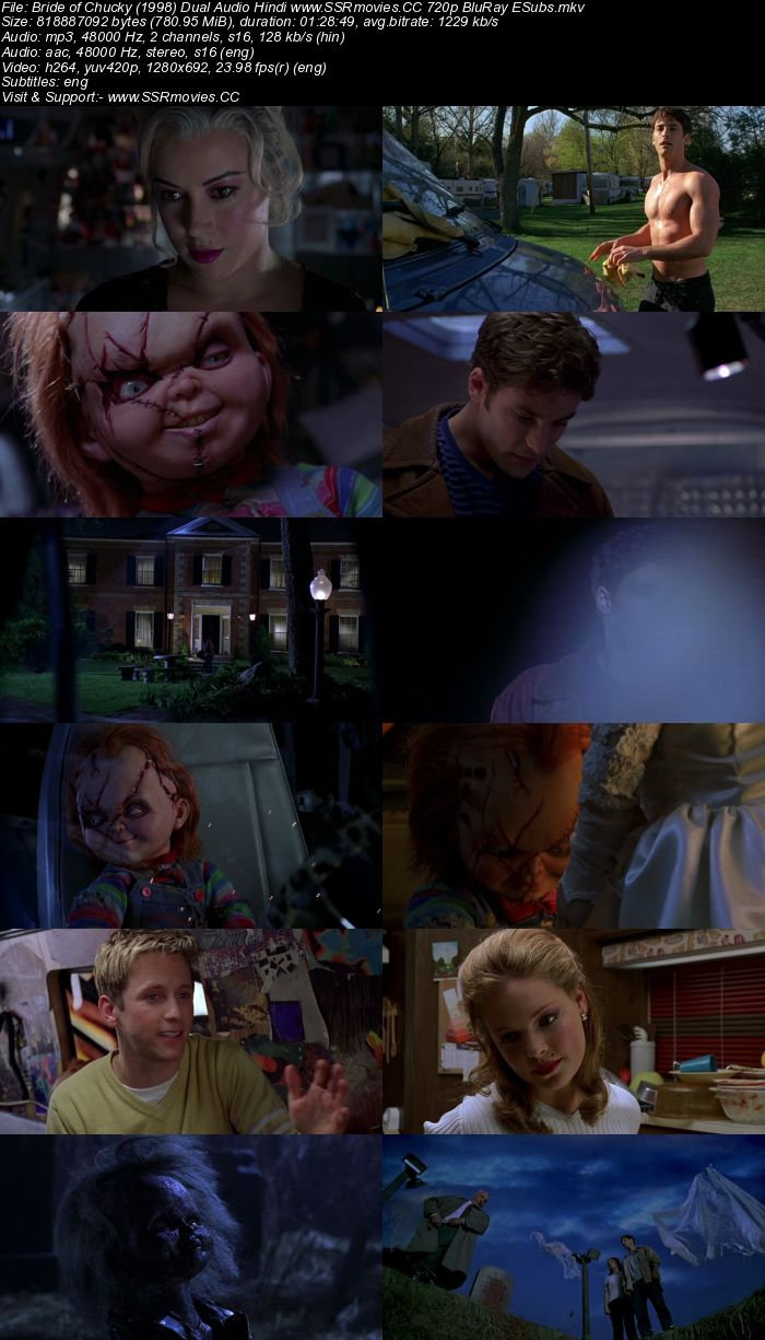 Bride Of Chucky 1998 Dual Audio Hindi 720P Bluray 750Mb Esubs  Ssr -9715