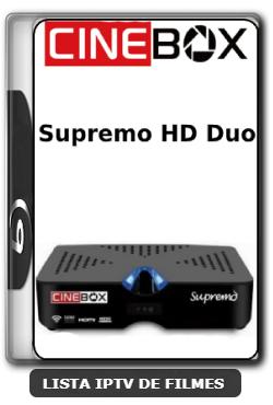 Cinebox Supremo HD Duo Nova Atualização Satélite SKS Keys 61w ON - 28-03-2020