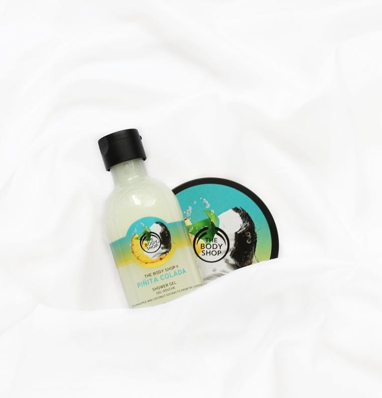 Ulubieńcy Sierpień 2016 The Body Shop Pinita Colada Masło do ciała