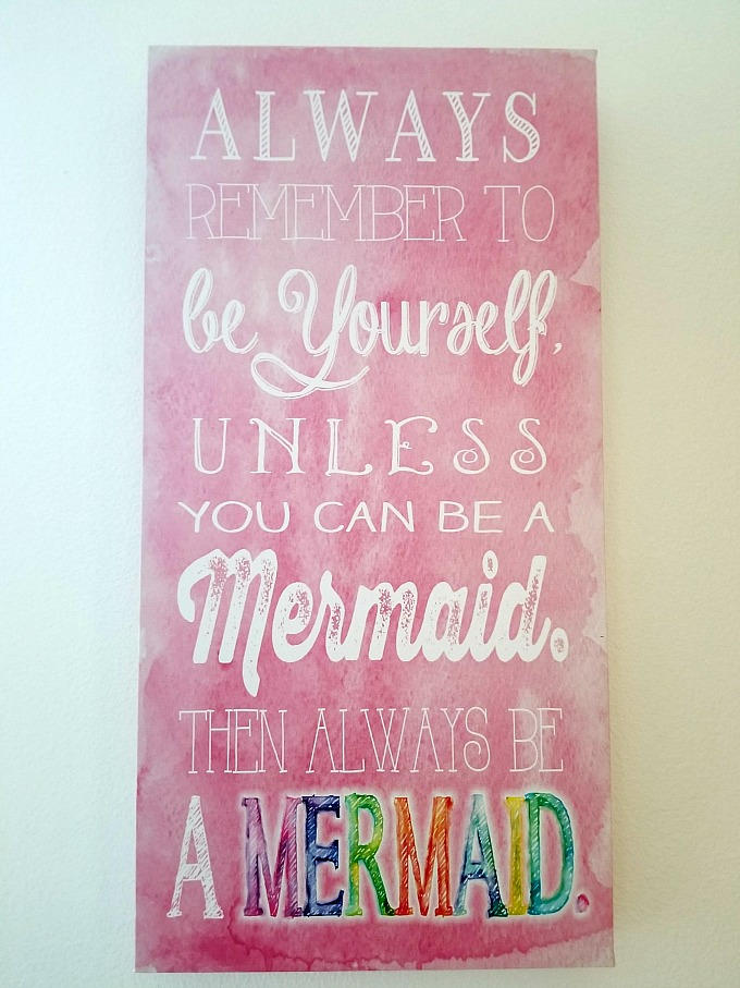 Mermaid Wall Art