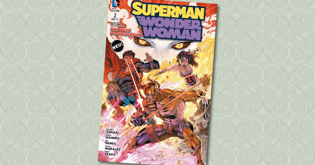 Superman Wonder Woman 2 Panini Cover