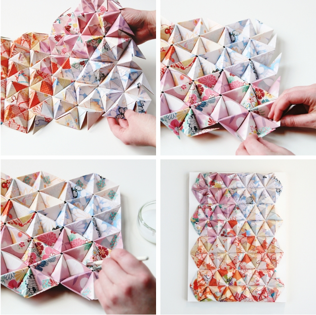 THINGS I'VE MADE FROM THINGS I'VE PINNED: DIY 3D ORIGAMI ...