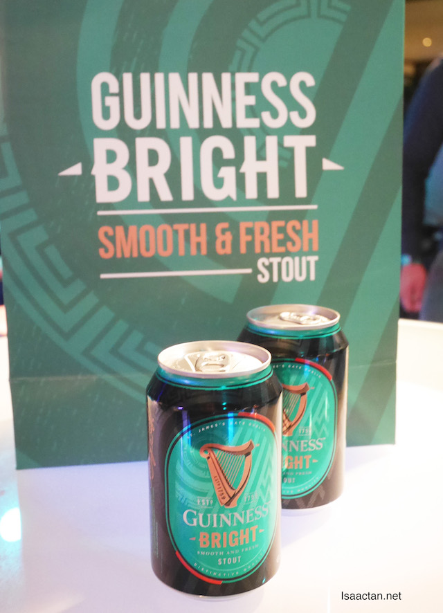 Guinness Bright comes in 320ml cans as well as 325ml bottles.