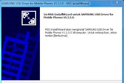 Download Samsung USB Driver for Mobile Phones Versi 1.5.5.0
