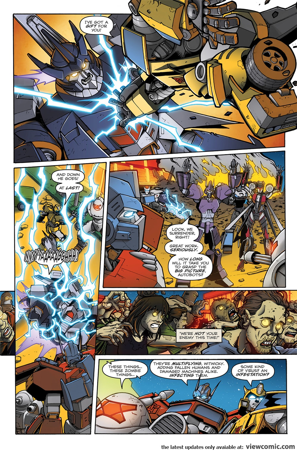 Transformers – Infestation 01 (of 02) (2011) | Viewcomic