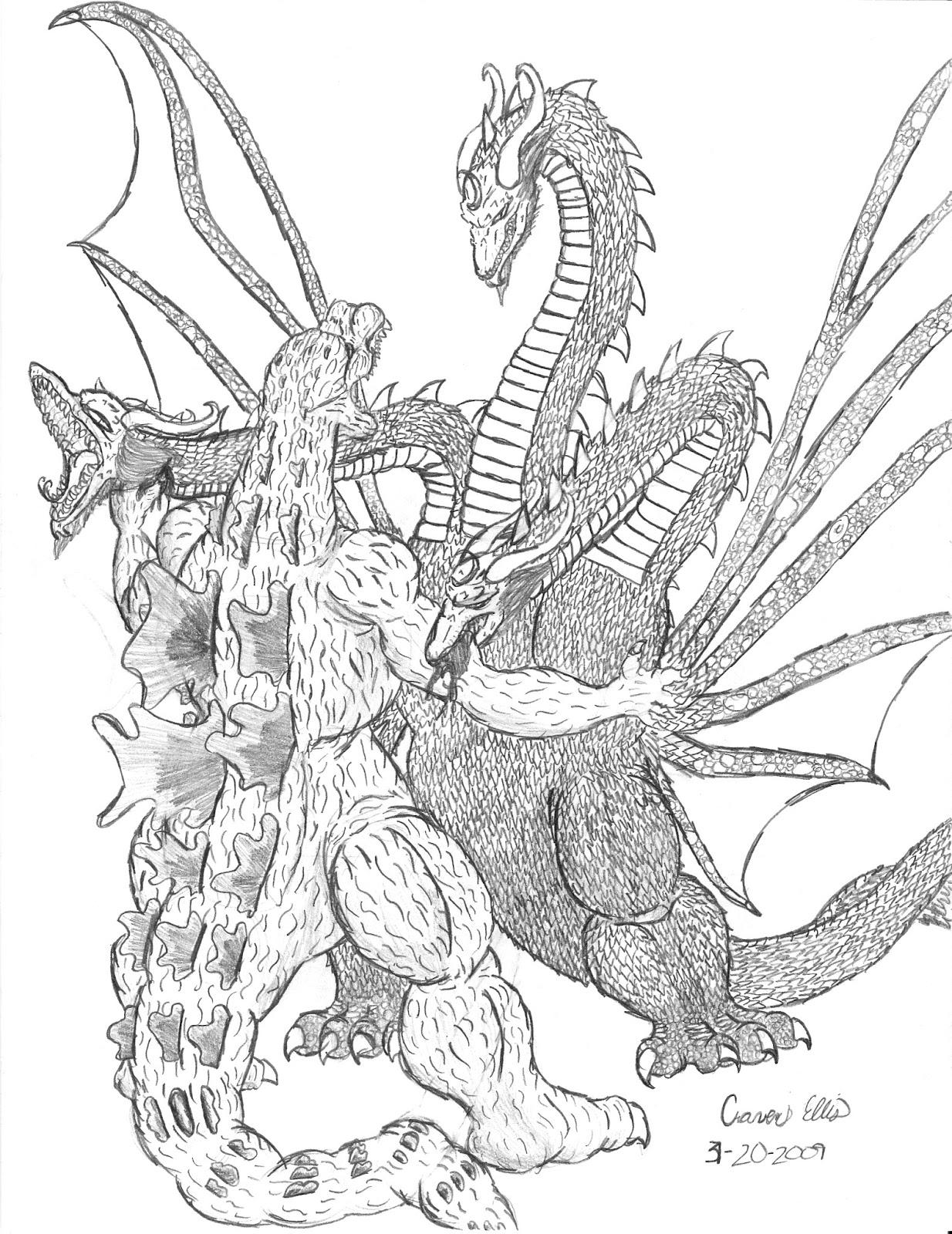 Kaiju Battle Saturday Showcase Godzilla Vs King Ghidorah