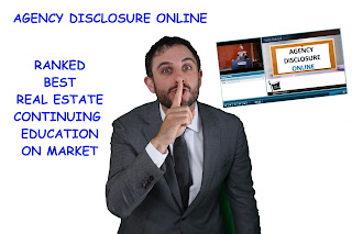2016 SURVEY RESULTS ARE IN! Agency Disclosure ONLINE ranked BEST Real Estate CE