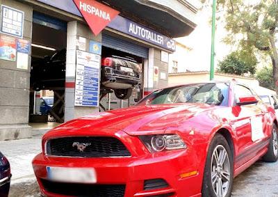 Transformación a Autogas/GLP de un  Ford Mustang V6