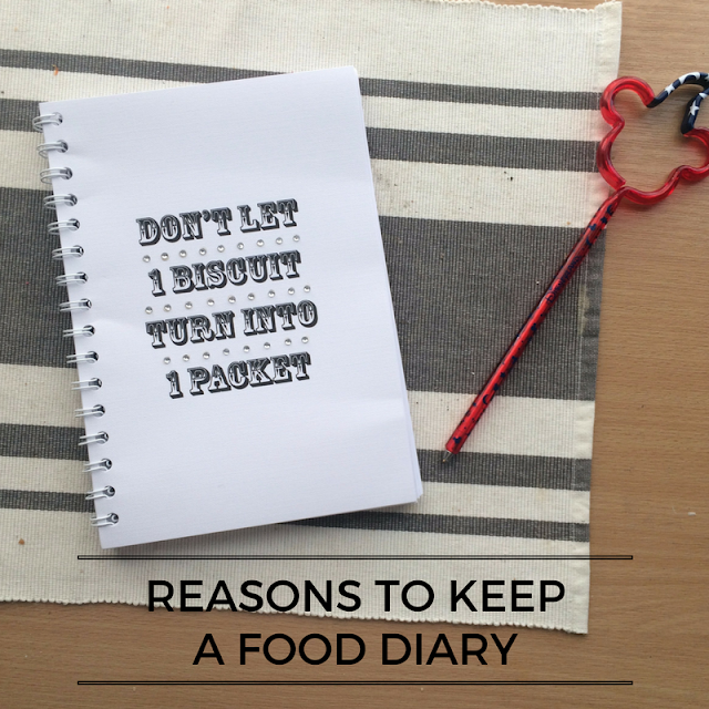 Reasons to keep a food diary when losing weight
