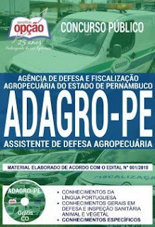 download Apostila Concurso ADAGRO 2018 PDF Download