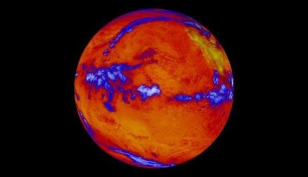 Los oceanos del mundo han absorbido el 90% del calor de la tierra.
