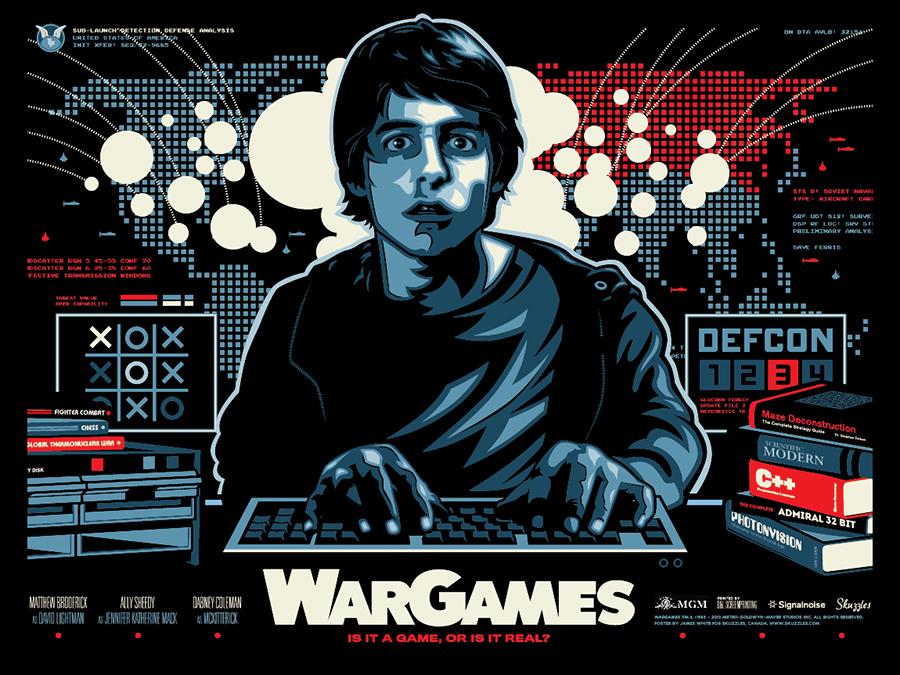 Inside The Rock Poster Frame Blog War Games Movie Poster