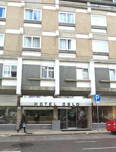Hotel Oslo Coimbra, Portugal.