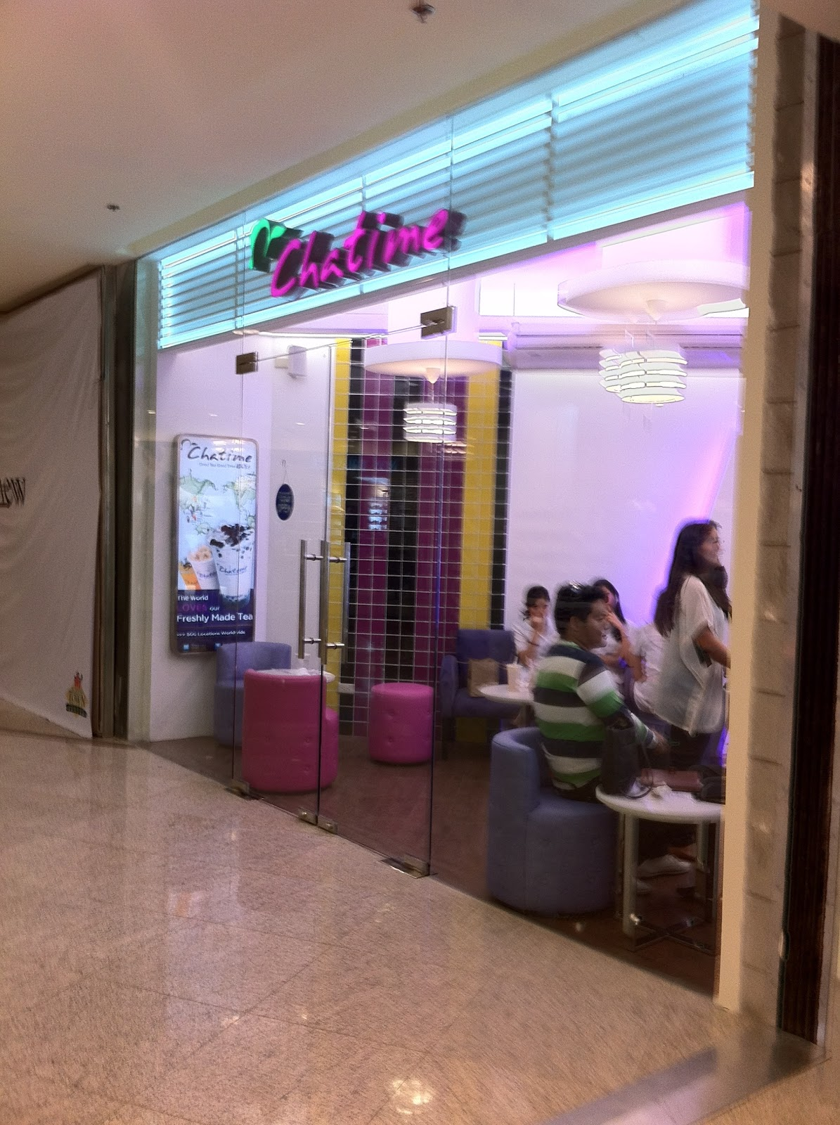 All About Family   : Chatime, Alabang Town Center