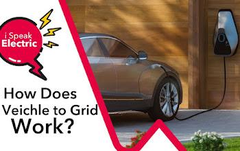 Từ vựng EV World, V2G (Vehicle to Grid), công nghệ biến ô tô thành trạm phát điện di động