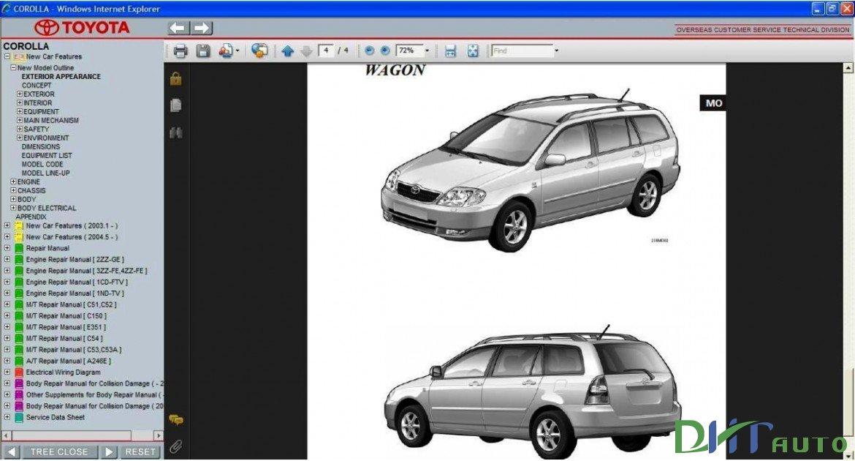 Toyota Corolla Service  U0026 Repair Manual Update 2001