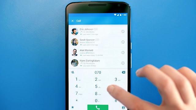 تطبيق Truecaller لمعرفة إسم المتصل بمجرد إدخال رقم هاتفه