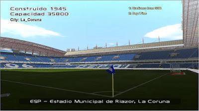 PES 6 La Liga Santander Stadium HD Season 2017/2018