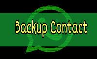 sekarang ini sedang banyak yang mencari bagaimana sih langkah langkahnya Cara Backup Kontak Whatsapp Android