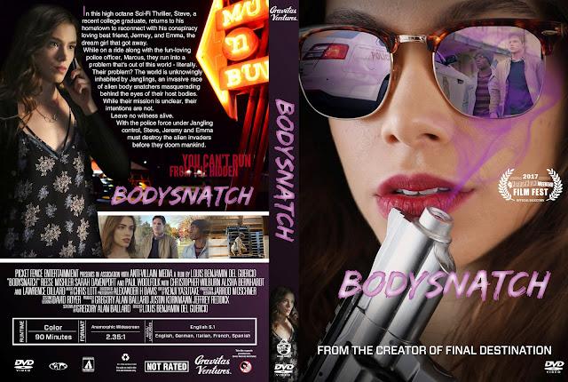 Bodysnatch DVD Cover