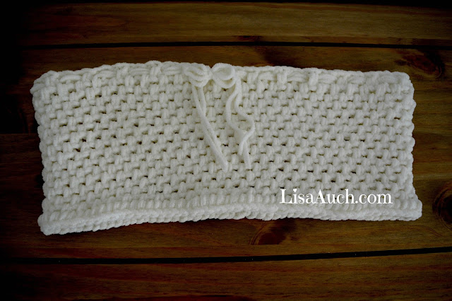 Free Crochet Cowl Pattern (Crochet Neck Warmer)
